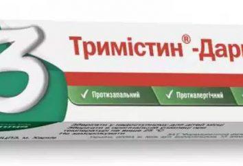 """Lek """"Trimistin"""" (maść): Instrukcja obsługi, opis, skład i opinie"""