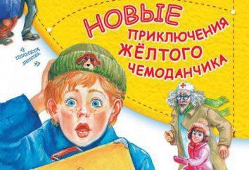 """A história """"The Adventures of a mala de viagem amarela"""": um resumo. """"As Aventuras da mala de viagem amarela"""": o enredo e os personagens dos heróis"""