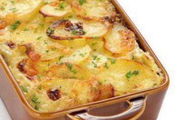 maquereau odorante avec pommes de terre au four. Recettes pour tous les goûts