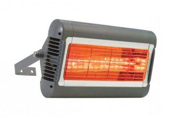riscaldatori a raggi infrarossi per la casa: recensioni e caratteristiche