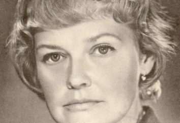 Grebeshkova Nina Pavlovna: filmographie, photo, biographie, croissance, famille