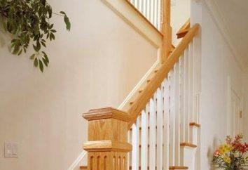 Jak zbudować drewniane schody na drugie piętro z rękami