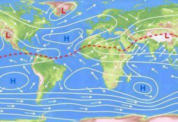 Les courants des océans. Qu'est-ce qu'un froid et chaud pour? Description et exemples