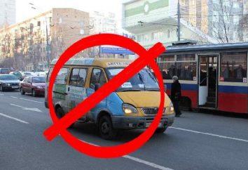 Schließen Kleinbus in Moskau. Passagierverkehr in Moskau Reform: Auswirkungen