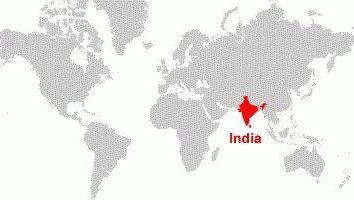 Sur quel continent est l'Inde? Inde sur la carte du monde