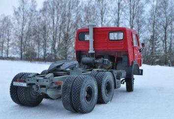 KamAZ 54112: características gerais do veículo