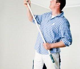Latex-Farbe für Decken: Wie bewerbe ich mich? professionelle Beratung