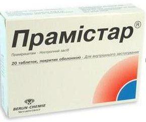 """Lek """"Pramistar"""": instrukcje użytkowania i analogów"""