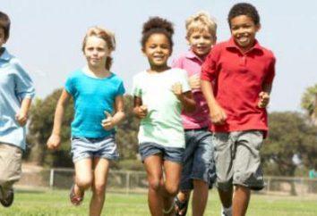 Lo que es el principal medio de la educación física de los niños?