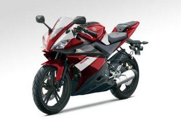 Ogólne cechy sportowe Yamaha YZF-R125
