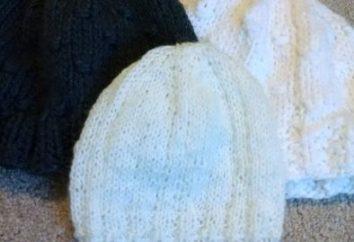 Jak zakończyć igły kapelusz? Jak na drutach kapelusza szprychy: Opis obwodu, wzory