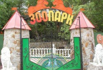 Zoo (Yalta): estrutura, características