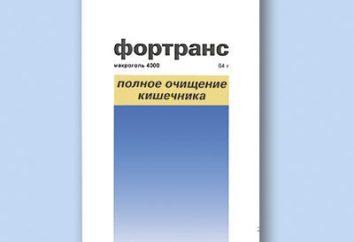 """Wie """"Fortrans"""" in Vorbereitung für die Koloskopie nehmen"""