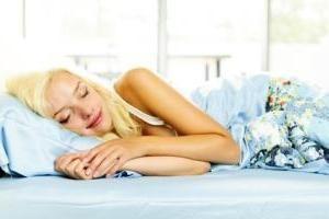 Quando la donna ha visto il bambino durante il sonno, perché aspettare?