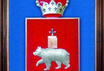 Flagge und Wappen des Permregion: history, Beschreibung, Preis
