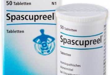 """farmaco analgesico """"Spaskuprel"""": istruzioni per l'uso"""