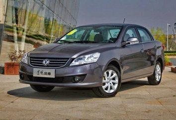 sedan orçamento Dongfeng S30: especificações técnicas e equipamentos