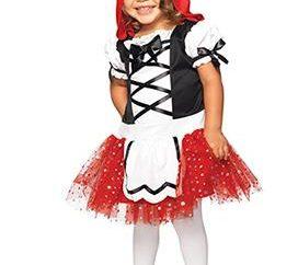 Como fazer um traje pequeno Red Riding Hood com suas próprias mãos