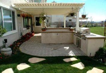 Gazebo avec barbecue pour le jardin – une bonne solution pour tout territoire
