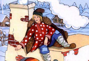 charakter bajki Emelya: strój na wakacje z rękami