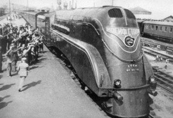 Radziecki lokomotywa Mainline pasażera jest: historia, charakterystyka techniczna