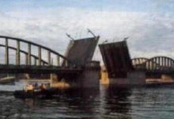Ponte Volodarsky in St Petersburg