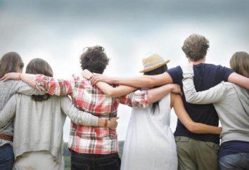 A medida que la amistad se refleja en su éxito en la vida