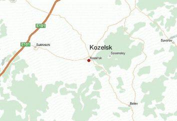 Kozelsk, région de Kalouga: sites et photo