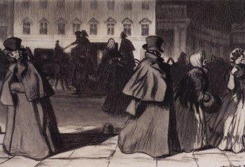 L'image de Saint-Pétersbourg dans l'histoire « Le Pardessus. » « Pardessus » NV Gogol