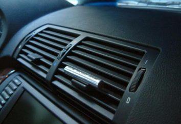 Désinfection climatiseur voiture: outils, manuel