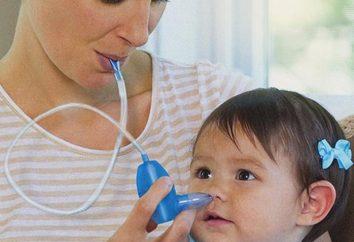 Algumas dicas sobre como lavar o nariz das crianças