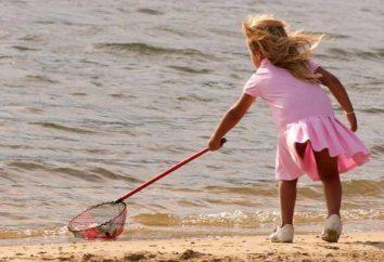 Como é a aclimatação do mar em crianças?