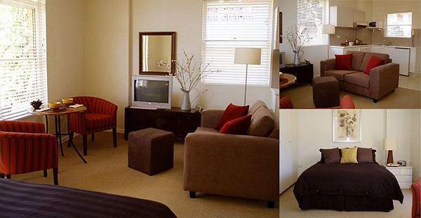 Colocación de los muebles en un apartamento estudio: ideas ...