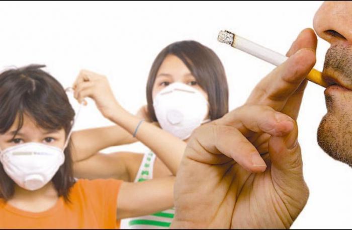 action du tabac sur les muscles
