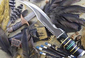 Cuchillos de caza con sus manos: la producción, dibujos, fotos y la forma de la hoja