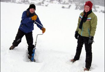 Bur für Eisangeln: Preis Bewertungen. Die Wahl eines Bohrers für das Winterangeln