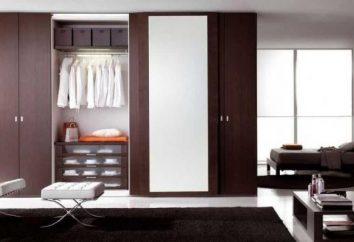 Jak zbierać szafę: wybierz odpowiedni model