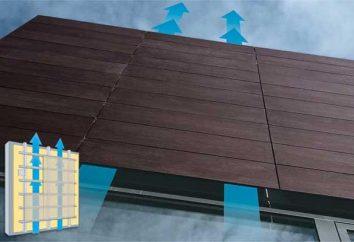 L'installation de façades ventilées – est un moyen simple et efficace