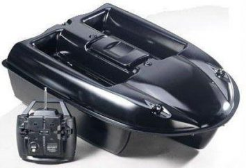 Radio sterowane łódź do wędkowania: opis, charakterystyka, rodzaje i ocen