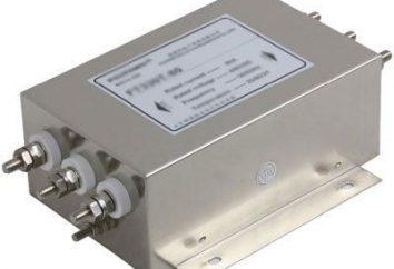 Filtro elettrico: tipi, scopo
