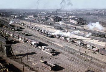 Dniepr historia kolejowej, rozwój, główne kierunki