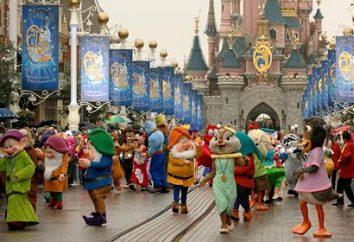 Wycieczki do Disneylandu, żywe bajkę