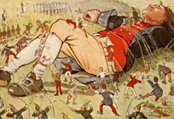 """""""Gullivers Reisen"""": eine Zusammenfassung des Romans D. Swift"""
