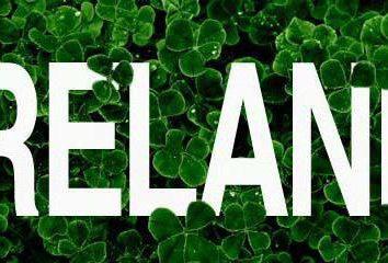 Beschreibung, Geschichte und Irland Platz