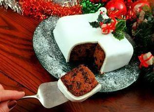Pastel de Navidad: Receta. Pastel de Navidad con manzanas