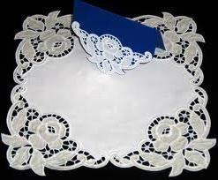 Dekoracje królewskie – hafty Richelieu