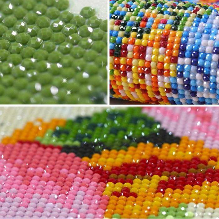 bordado de diamantes: opiniones de costureras