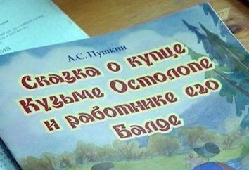 """Którzy rywalizowali z Balda w Puszkina bajki """"Opowieść o Kapłana i Jego Workman Balda""""?"""