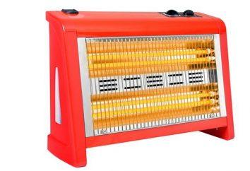 riscaldatori al quarzo: recensioni. riscaldatori al quarzo per la casa: prezzo, caratteristiche