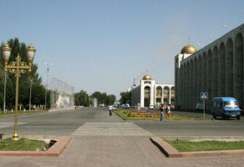 Kirgistan: Stolica Republiki. Biszkek: historia, opis, zdjęcie
